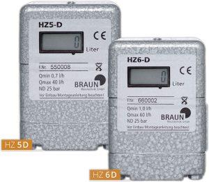 Ölzähler HZ 5D und HZ 6D