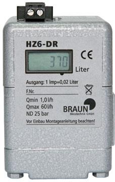 Compteur de fuel HZ 6 DR