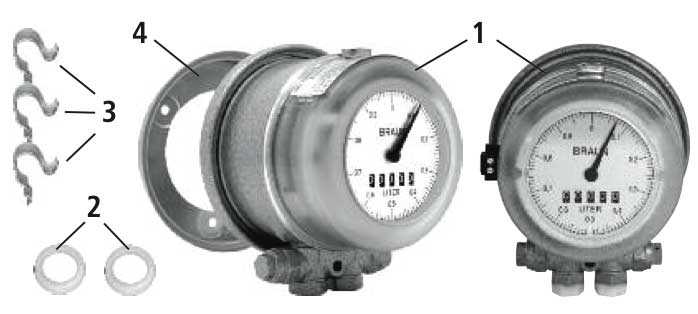 Oil meter HZ 3 assembly instructions
