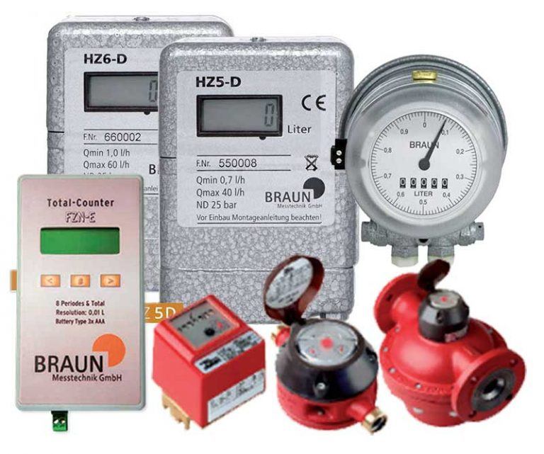 Braun Oil Meters