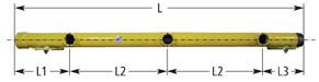 RAE für 3 Einstutzen-Gaszähler Artikel-Nr. 72 140 103