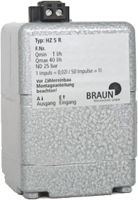 Oil Meter HZ 5 R from Braun Messtechnik