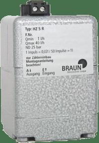 Compteur de fuel HZ 5 R de Braun Messtechnik