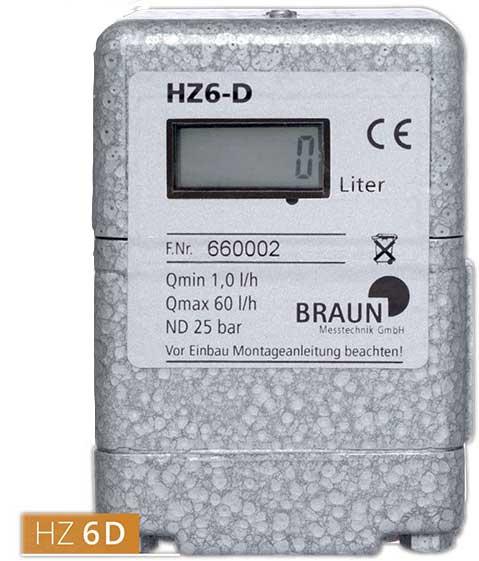 Compteur de fuel HZ 6 D