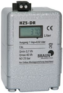 Oil Meter HZ 5 DR by Braun Messtechnik