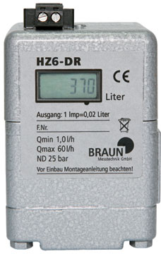 Oil Meter HZ 6 DR
