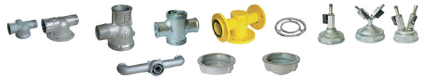 Connectors and accessories for single-nozzle gas meters