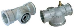 Connecteur pour régulateur de pression de gaz monotube